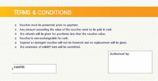 Cash Voucher - $20 back
