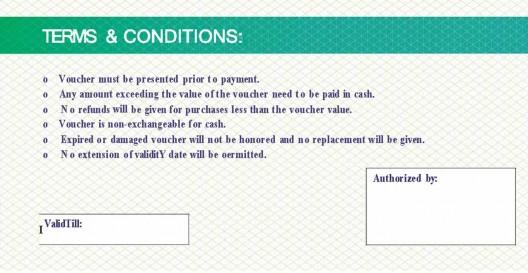 Cash Voucher - $5 back